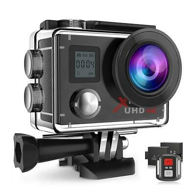 Campark ACT76 Action Cam 4K WiFi 16MP Ultra HD Sport Camera con Dual...