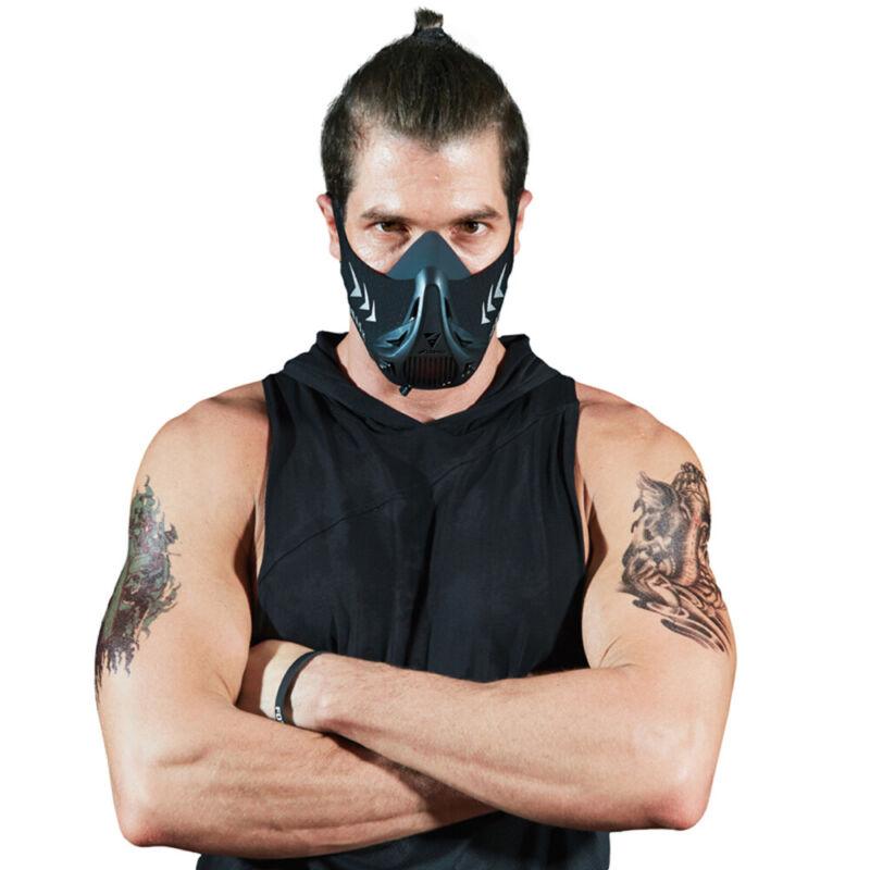 FDBRO Workout High Altitude Training Fitness Oxygen Barrier Running Sport Mask