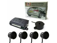 Parking Sensor Car Rear Reverse Parking 4 Sensors Reversing Audio Buzzer Kit - Supply & Fit £99.99