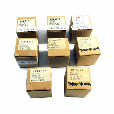 Lot Of 8 New Smc K40-mp1.0-n01ms 1.5 Pressure Gauges 0-160psi 18 Npt Cbm M5