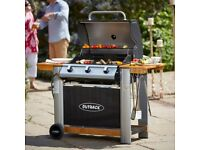 Outback 3 gas burner hooded bbq