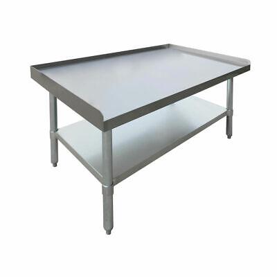 HUBERT Kitchen Equipment Stand Stainless Steel - 36