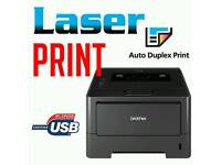 Laser Printer with Toner 40% Full