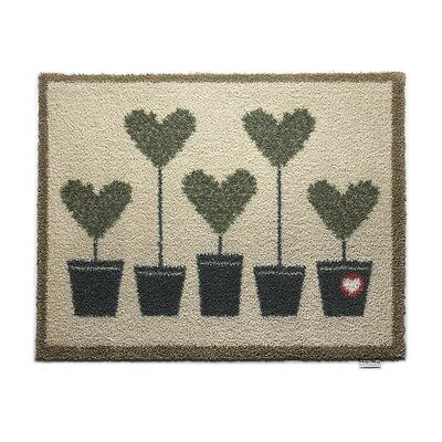 hug rug 150x65cm topiary 10 dirt trapper door mat. Black Bedroom Furniture Sets. Home Design Ideas