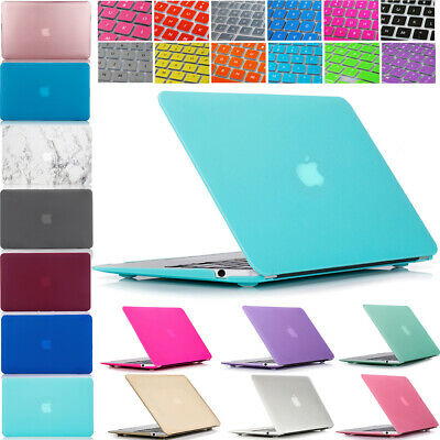For New MacBook Air 13 Case A1932 A2179 Plastic Hard Shell Case & Keyboard Cover