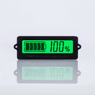 12v Battery Ly6n Battery Capacity Indicator Led Lead-acid Tester Voltmeter Ass