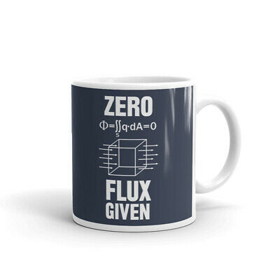 Zero Flux Given Science Nerd Adult Coffee Tea Ceramic Mug Office Work Cup Gift - Science Cup