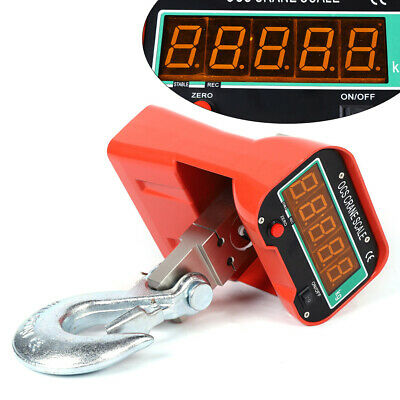 3t6600lbs Crane Scale Digital Scale Heavy Duty Industrial Led Hanging Scale New