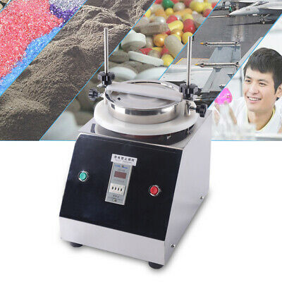 200mm Electric Vibrating Sieve Machine Automatic Sifter Shaker 03mm Amplitude