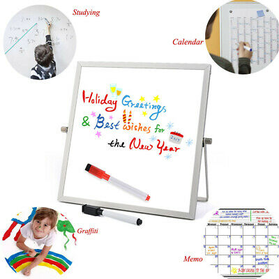 Small Magnetic Dry Erase Board Whiteboard Set For Home Office Kid Study 1010