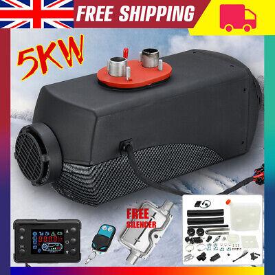 5000W Air Diesel Heater 5KW 12V PLANAR for Trucks, Motor-homes, Boat Bus Van UK
