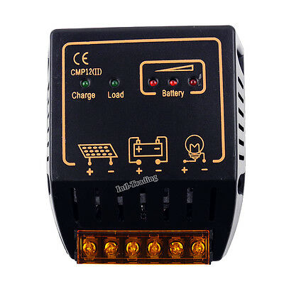 PWM 12V 24V 20A Auto PV Solar Panel Charge Controller Battery Charger Regulator ()