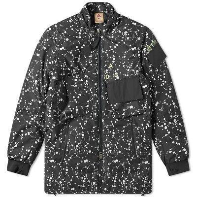 NikeLab ACG Acronym Insulated Puffer Jacket Black/White AQ3531 010 Men's Size M
