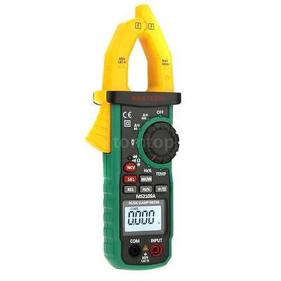 Mastech Ms2109a Auto Ranging Digital Acdc Clamp Meter Cap Temp Ncv Tester M1u7