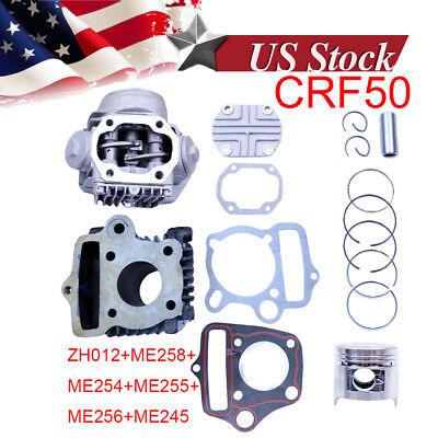 Z50 Z50R XR50 CRF50 50CC FOR HONDA DIRT BIKE CYLINDER ENGINE MOTOR REBUILD KIT