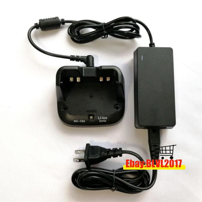 BC-193 Charger for ICOM IC-T70A ICT70E ICV80 ICV80E F3001 F4001 BP-265 radio