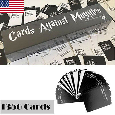 Cards Against Muggles Harry Potter Cards Against Humanity 1356 Cards Table Game
