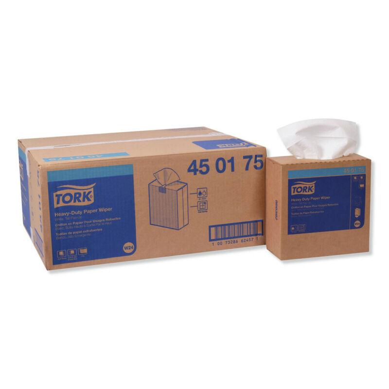 """Tork 450175 90 Wipes/BX, 10 X/CT HD 9.25"""" x 16.25"""" Paper Wipes - WHT New"""
