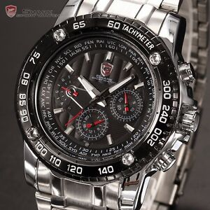 SHARK-6-HANDS-MENS-MILITARY-SPORT-WATERPROOF-WATCH-BOX