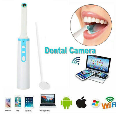 2mp Oral Dental Wifi Intraoral Camera Endoscope Hd Wireless 8 Leds Photo Shoot