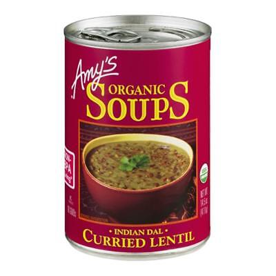 Amy's-Organic Curried Lentil Soup (3-14.5 oz cans)