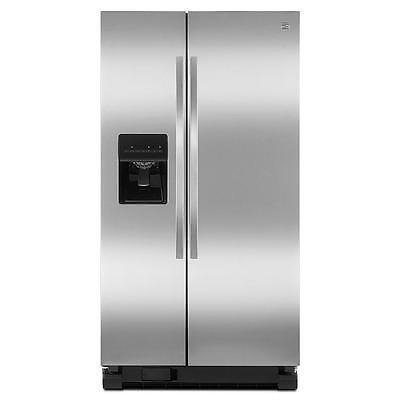 Kenmore Stainless Steel Refrigerator - Kenmore 25 cu. ft. Side by Side Refrigerator Stainless Steel - 50023/ Ships Fast