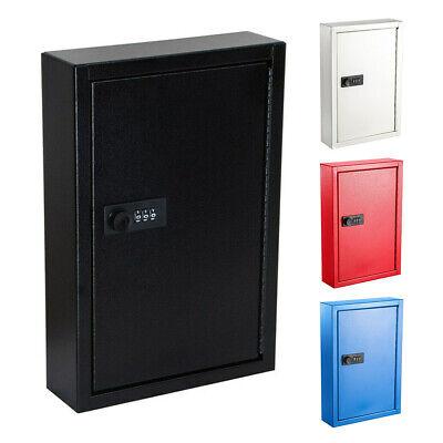Adiroffice Steel Wall Mount Auto 40 Key Combination Lock Secure Storage Cabinet