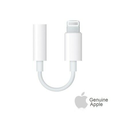 Apple Lightning to 3.5 mm Headphone Jack Adapter Original OEM iPhone 7 8 Plus X