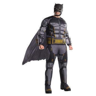 Mens Tactical Batman Justice League Big & Tall Costume