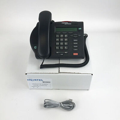 Nortel Meridian M3902 Display Avaya Phone Charcoal- Bulk