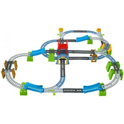 Thomas the Train Toys Track Master Percy 6-in-1 Motorized Engine Train Set