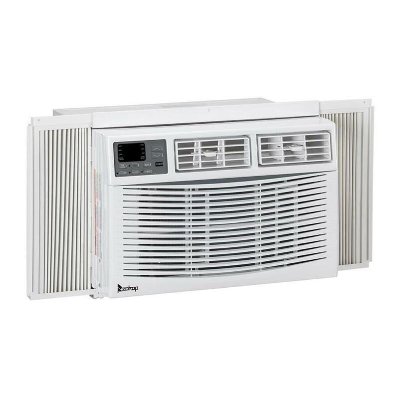 Zokop 10,000 BTU 3-Speed Window Air Conditioner w/450 sq.ft. Room Coverage Timer