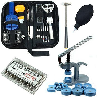 Watch Repair Tool Kit  - Case Opener / Link Remover / Spring Bars / Case Press