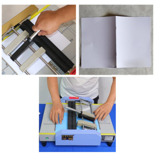 A3 Folding Binding Machine Booklet Making Machine Paper