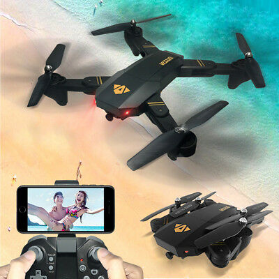 Broad Drone WiFi FPV 1080P HD 2MP Camera GPS Foldable Quadcopter Helicopter Hot