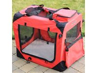 Pet/dog/puppy/cat carrier cage crate