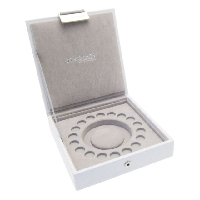 Stackers by LC Designs White Charm Stacker Jewellery Tray-Lid
