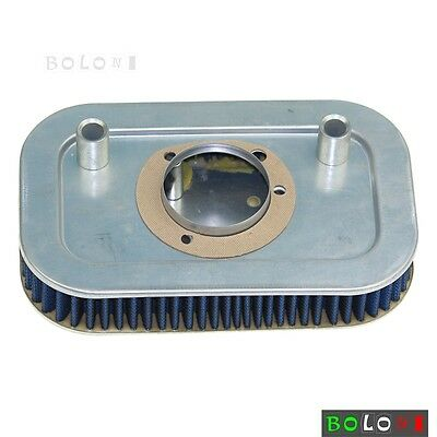 Blue Air Filter Cleaner HD-9608 For 08-15 Harley-Davidson FXDL Dyna Low Rider