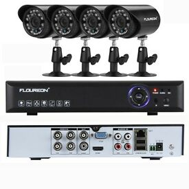 CCTV system with fitted internal Hard drive From 64 .99.Can also be viewed from your mobile