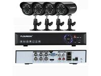 CCTV system 2/4camera DVR with fitted internal Hard drive From £99.99 Can viewed from your mobile