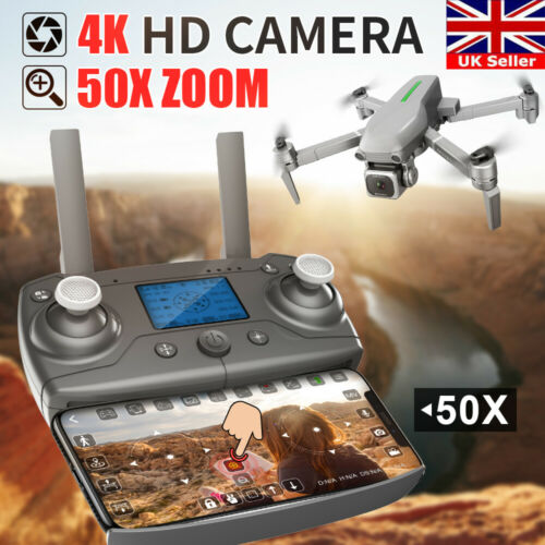 L109-S Pro RC Drone FPV 4K HD Camera Foldable Selfie 5G GPS WIFI Quadcopter UK