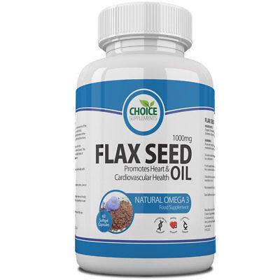 semi di lino Olio Semi di lino 1000mg SANO Cuore Ricco di Omega 3