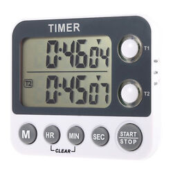 Digital LCD Flashing LED, Count Up/Down Timer and Clock, Dual 2 Event / Channel