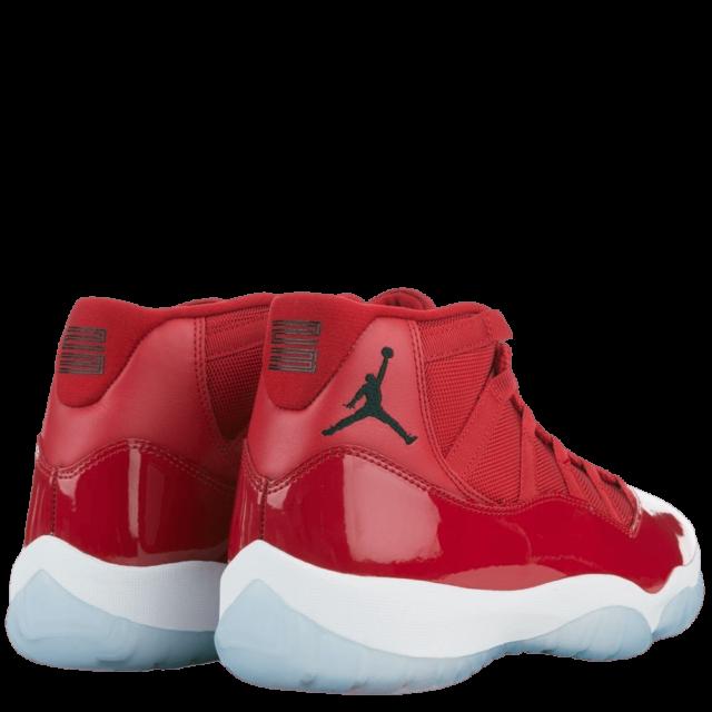 Jordan 11 Red Sneaker