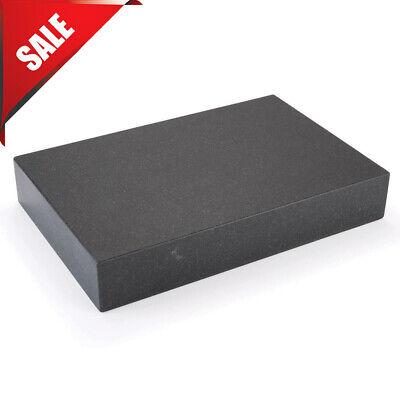 Black Granite Surface Plate Grade A Ledge 0 18 X 12 X 3 Sharpening Stone