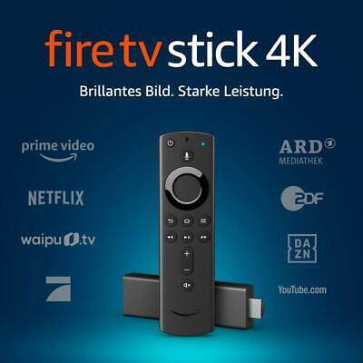 Amazon Fire TV Stick 4K Ultra HD mit der neuen Alexa-Sprachfernbedienung, NEU