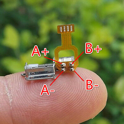 20pcs Micro Screw Stepper Motors Miniature 2-phase 4-wire Step Motor Driver