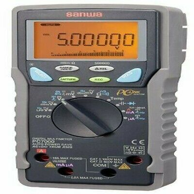 Sanwa Electric Digital Multi Meter Pc-7000 Expedited Shipping 4981754 Pc7000