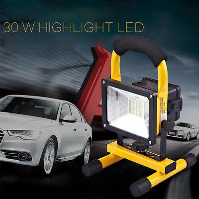 30W LED Flutlicht Arbeitsleuchte Baustrahler wasserdicht Fluter Handlampe
