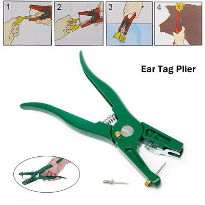 Animal Ear Tag Pliers For Pig Cattle Sheep Identification Card Installing Tool